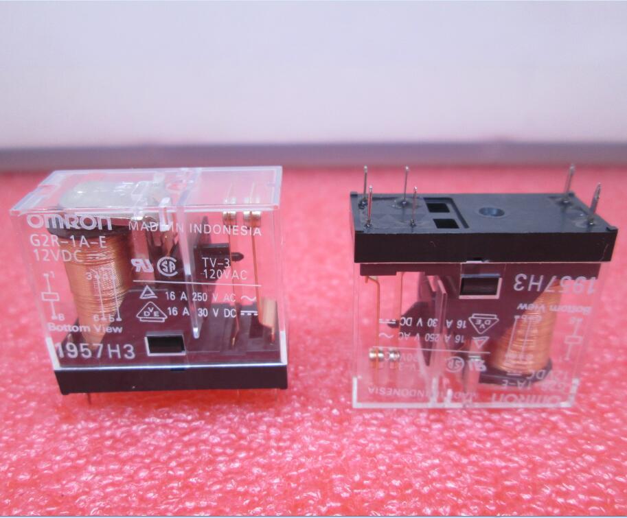 HOT NEW RELAY G2R-1A-E-12VDC G2R-1A-E 12VDC G2R1AE-12VDC G2R1AE G2R-1A G2R DC12V 12VDC 12V DIP6 G2R1AE реле omron 2 h1 dc12v gen dpdt 1a 12v h1 12vdc 8pin 10pcs lot g5v 2 h1 12vdc