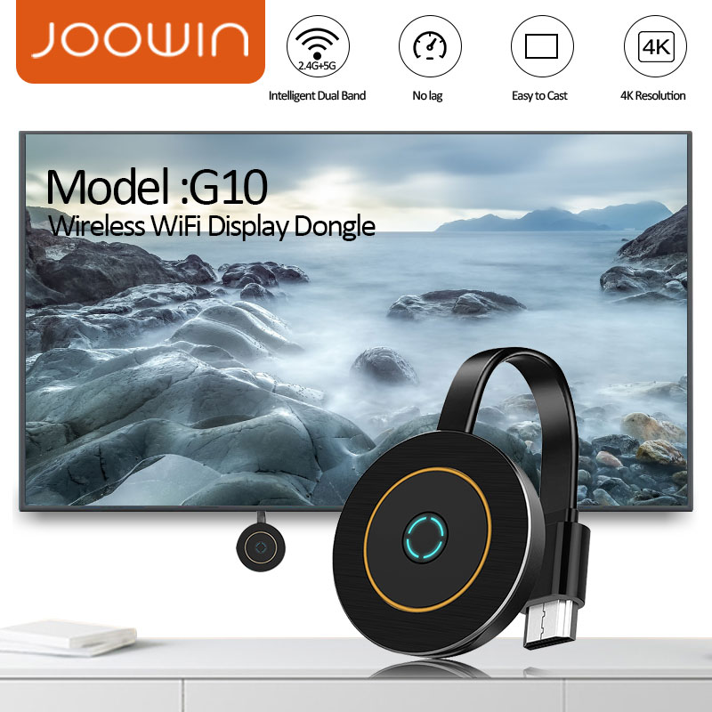 G10 WiFi Display Dongle for TV Projector Monitor With HDMI DDR1Gbit AM8272X Support for Android Iphone iPad Home Movie Accessory
