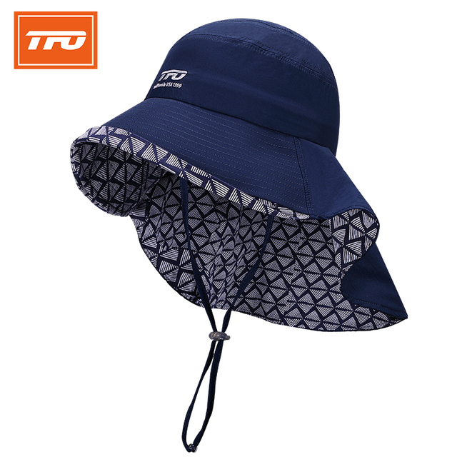 ecd34249aca TFO Men Women Fishing Caps Camping Hiking Outdoor Sport Hats UV Protection  Neck Cover Fishing Cap Visor Hat Neck Face Flap Caps