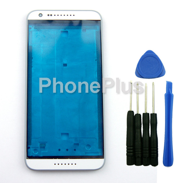 Grey LCD Housing Bezel Front Cover Frame Replacement For HTC Desire 620