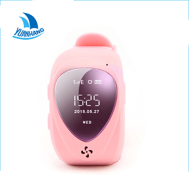 Smart Safe GPS LBS Location HD Oled Heart Screen Wristwatch SOS Call Finder Tracker Anti Lost Remote Monitor Watch for Kid Child