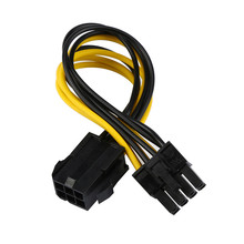 CARPRIE 6-pin to 8-pin PCI Express Power Converter Cable for GPU Video Card PCIE PCI-E 180208 drop shipping