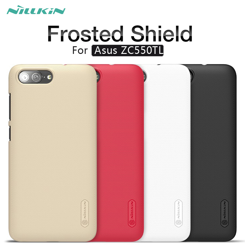 Case for Zenfone 4 max plus Original Nillkin Super Frosted Shield hard back cover for asus X015D ZC550TL 5000mAh