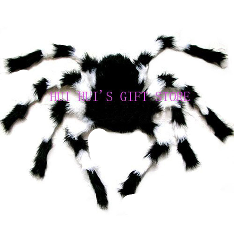halloween decoration big halloween spiderplush spider75cmbar decorationthree colours - Halloween Spiders