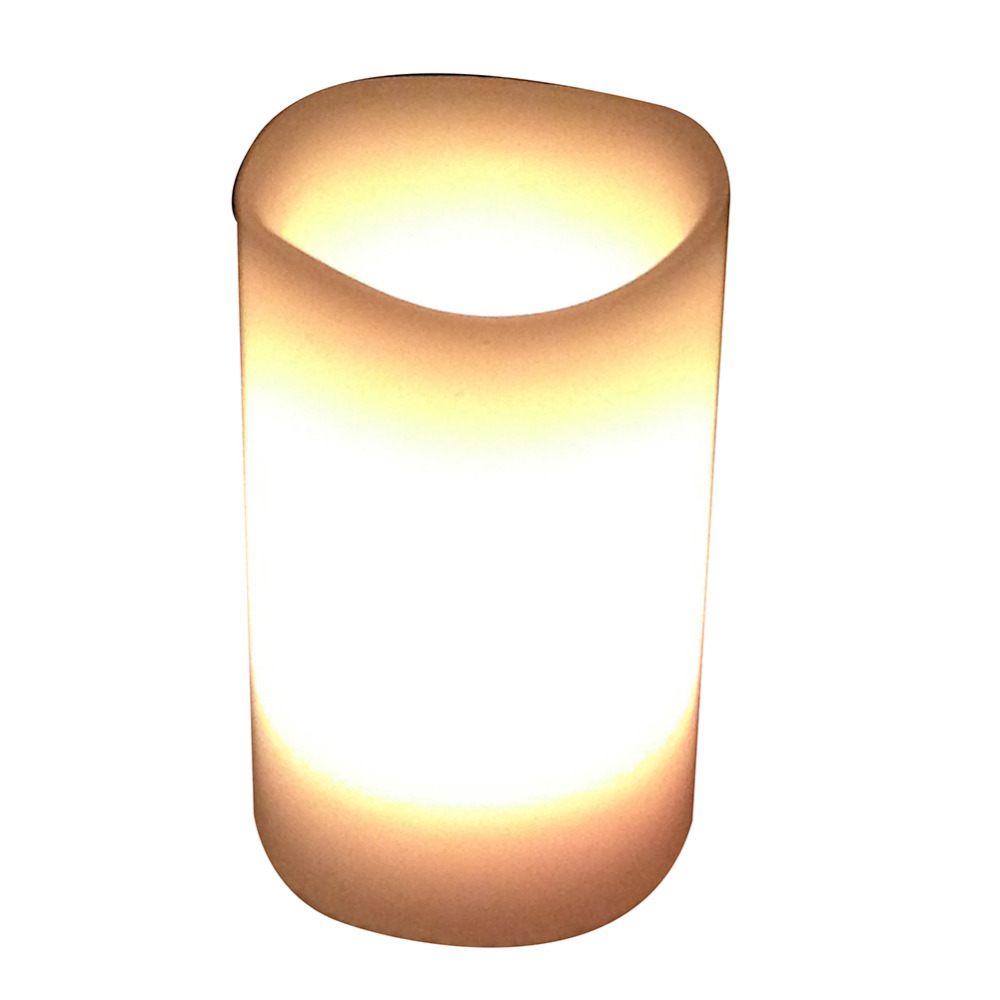 New 3pcs Led Flameless Candle Lamp Color Changing Candle Light With ...