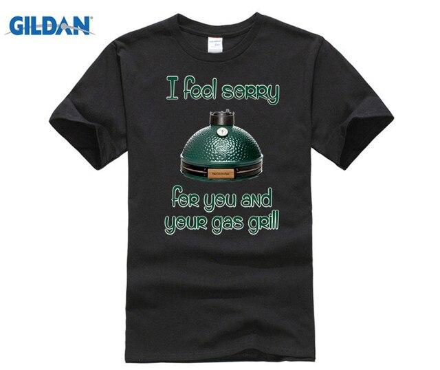 GILDAN Big Green Egg T-Shirt the best of Big Green Egg accessories Hot men's T-shirt