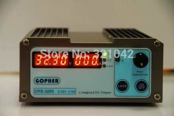 CPS-3205 0-30V-32V Adjustable DC Switching Power Supply 5A 160W SMPS Switchable AC 220V (198V-264V) cps3232 1000w 0 32v 0 32a high power digital adjustable laboratory dc power supply 220v cps 3232