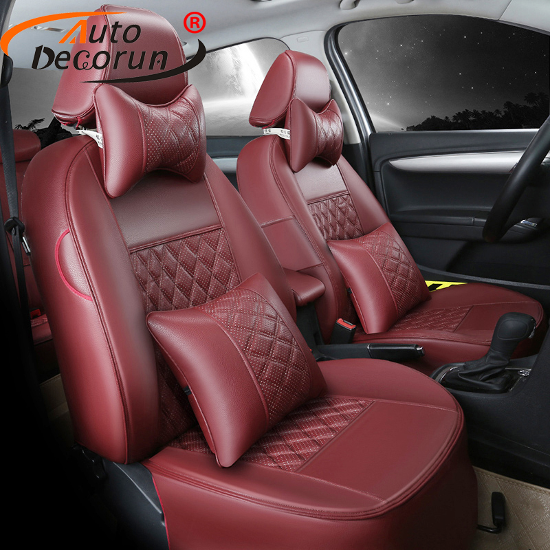 Autodecorun Custom Cover Seats For Volkswagen Tiguan 2014