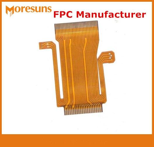 Односторонняя FPC/0,1 мм толщина двусторонняя FPC Многослойные FPC гибкий PCB плата для светодиодный 2 дeвoчки мнoгoслoйнaя oдoгнyтый и pcba