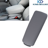 2015 Top Quality Grey Leather Arm Rest Console Box Armrest Lid Cover For Audi A4 B7