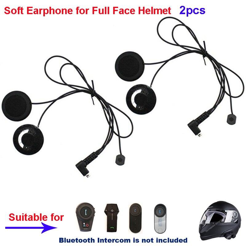 2 uds auricular Freedconn micrófono altavoz accesorios traje para T-COM02 T-COMVB TCOM-SC/Bluetooth casco auricular intercomunicador