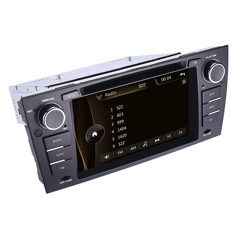 """Image 5 - Capacitive 7""""Touch Screen car gps navigation for bmw e90 E91 E92 GPS 3G Bluetooth Radio USB SD Steering wheel Free map Camera-in Car Multimedia Player from Automobiles & Motorcycles"""