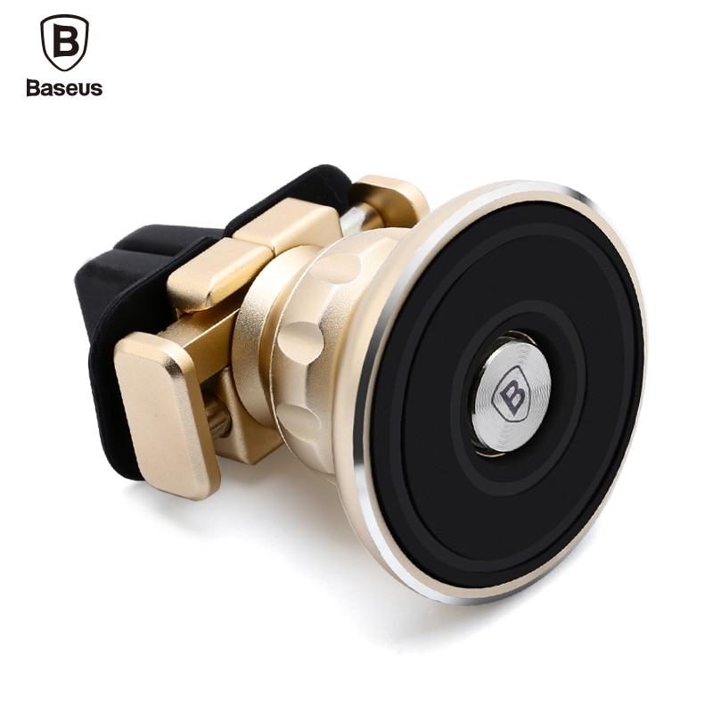 bilder für Baseus aromatherapie magnetic autohalterung für iphone 6 7 samsung s8 luxus Handy Ständer Halter 360 Entlüfter Telefonhalter Auto