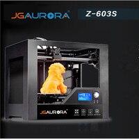JGAURORA Z 603S Desktop 3D принтеры 280x180x180 мм дома Применение с подогревом кровать высокая точность металлический каркас 3d печать ABS как подарок