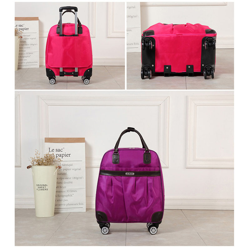 90FUN PC Suitcase Colorful Carry on Spinner Wheels Rolling Luggage TSA lock Business Travel Vacation for Women men - 4