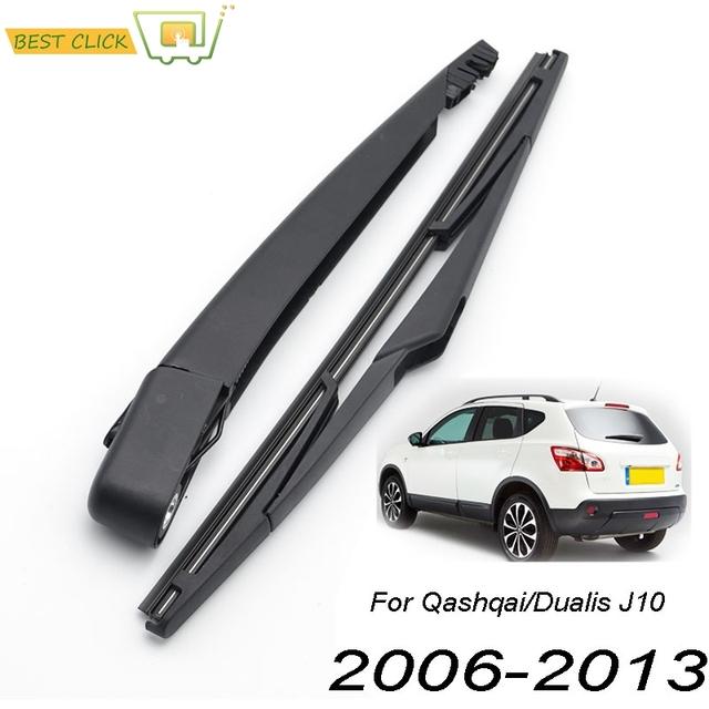 Misima Windshield Windscreen Wiper Blade Arm Set For Nissan Qashqai Dualis J10 Rear Wiper 2006 2008 2009 2010 2011 2012 2013