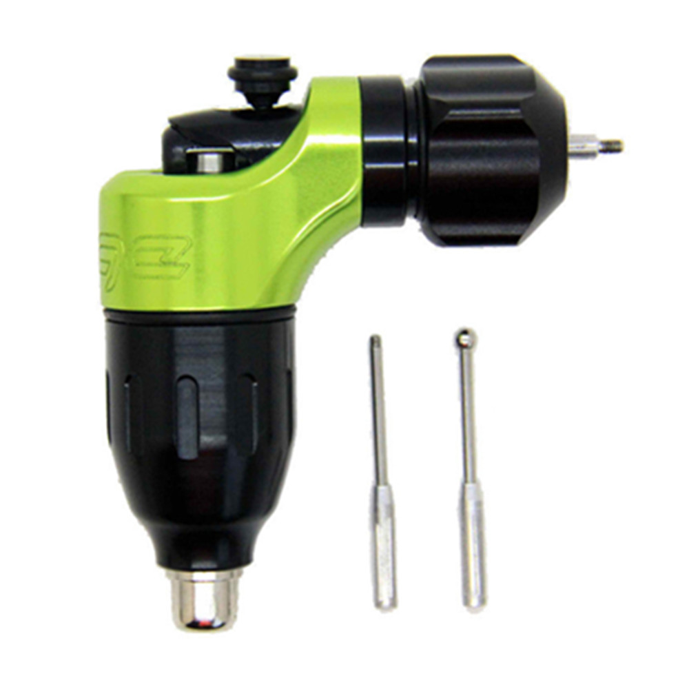 Professional Swiss Motor Cartridge Rotary Tattoo Machine Edge-X Green Supply Free RCA Cord castrol edge professional 5w30 спб