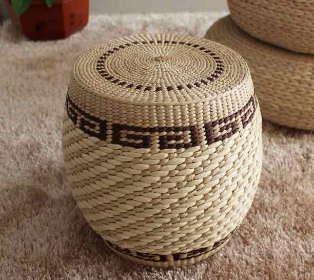 Awesome Traditional Art Pure Natural Rattan Stool Chair Handmade Dailytribune Chair Design For Home Dailytribuneorg