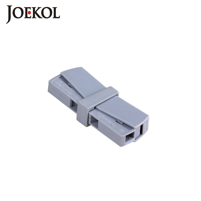 100pcs/lot JK-20(wago 224-201) Single 1 pin cable wire connecting for lamp 0,5 - 2,5mm2 flexible cable connectors
