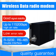10km long range wireless data transmitter and receiver 115200bps vhf uhf radio data modem rs485 rs232 wireless 433 transceiver