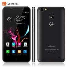 Оригинал Gooweel M15 4 Г Смартфон Отпечатков Пальцев MTK6737 Quad core бит 5.0 дюймов IPS Android 6.0 мобильный телефон 2 ГБ 16 ГБ Сотовый телефон