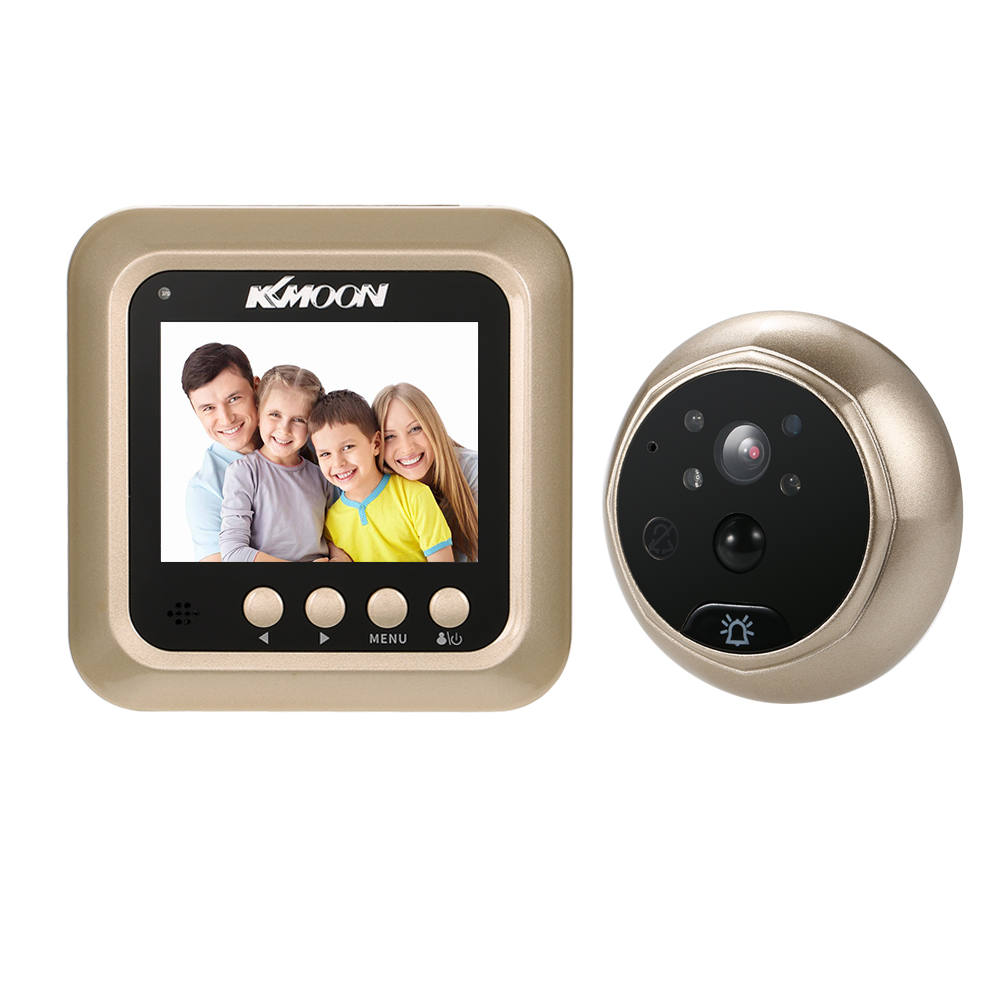 Buy kkmoon 2 4 digital door peephole for Occhio magico elettronico