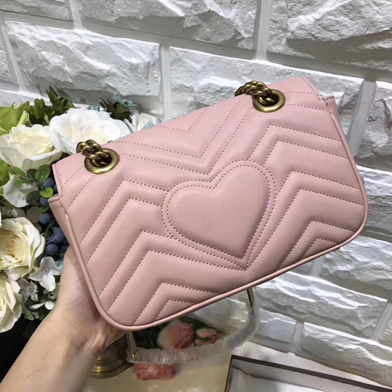 Luxury Brand Real Leather Marmont Bag Women Designer Top Quality Cow Leather Bag Shoulder Bag 2018 Fashion Handbags Free DHL women brand quality classic fashion shoulder bag leather handbags shopping bag top quality real leather handbag