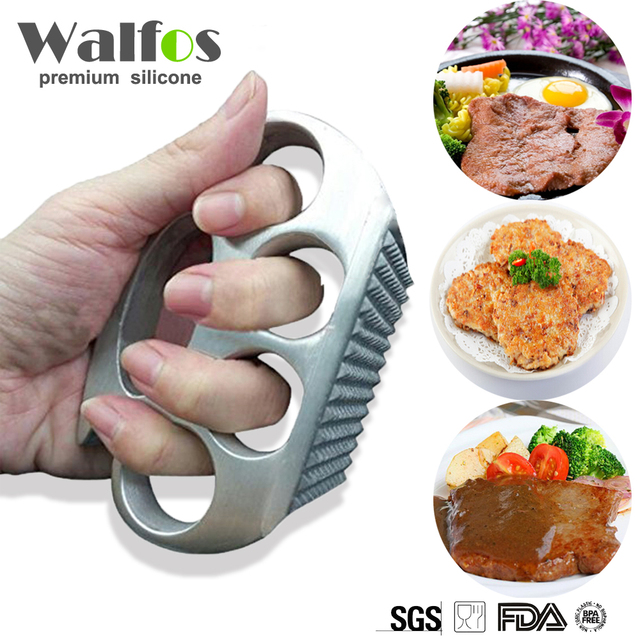 Meat Hammer Aluminium Alloy Kitchen Handmade Meat Tenderizer Knuckle Pounders Professional Kitchen Accessories Sale