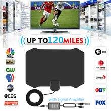 Kapalı HDTV Anten Dijital TV Anten + sinyal amplifikatörü Güçlendirici VHF UHF Kablo TV Sörf Tilki Antenleri TV Yarıçapı Antenler DVB T /T2
