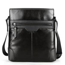 Black Brown Male Designer Crossbody Bag Fashion Genuine Leather Small Work Bag For Men Stylish Casual Cowhide Shoulder Bag цена