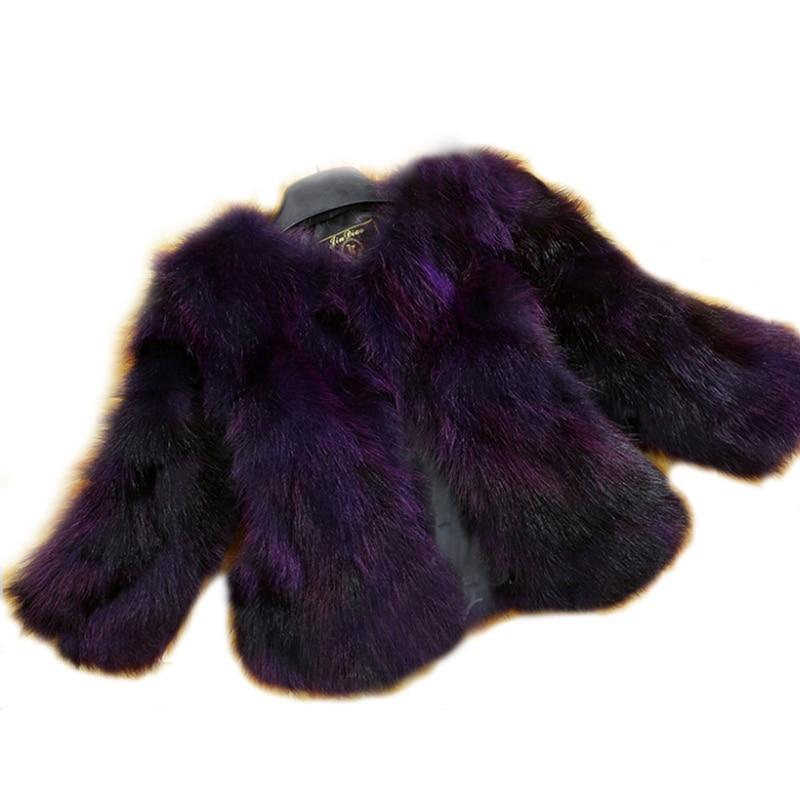 Natural Real Fox Fur Coat Genuine multi colors Fox Fur waistcoat Fashion Factory Wholesale Retail Customize