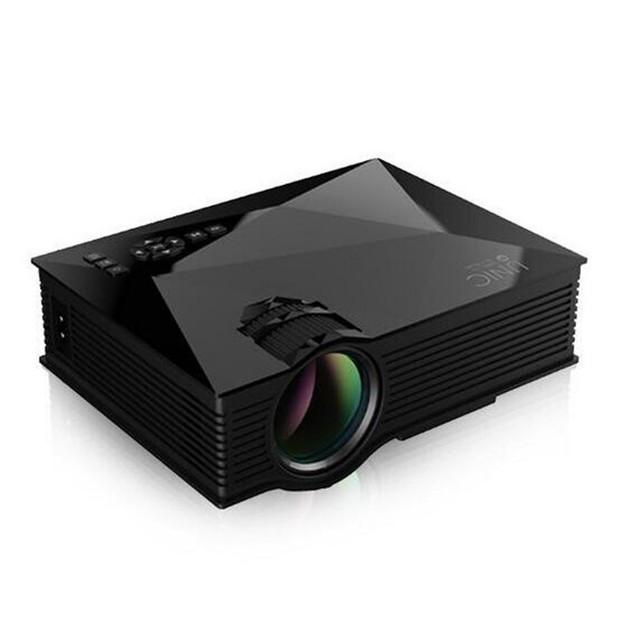 O envio gratuito de Mini Projetor CONDUZIDO HDMI 1080 P HD Portátil Pico Projetor Projetor de Vídeo AV, USB, suporte ao Idioma Russo