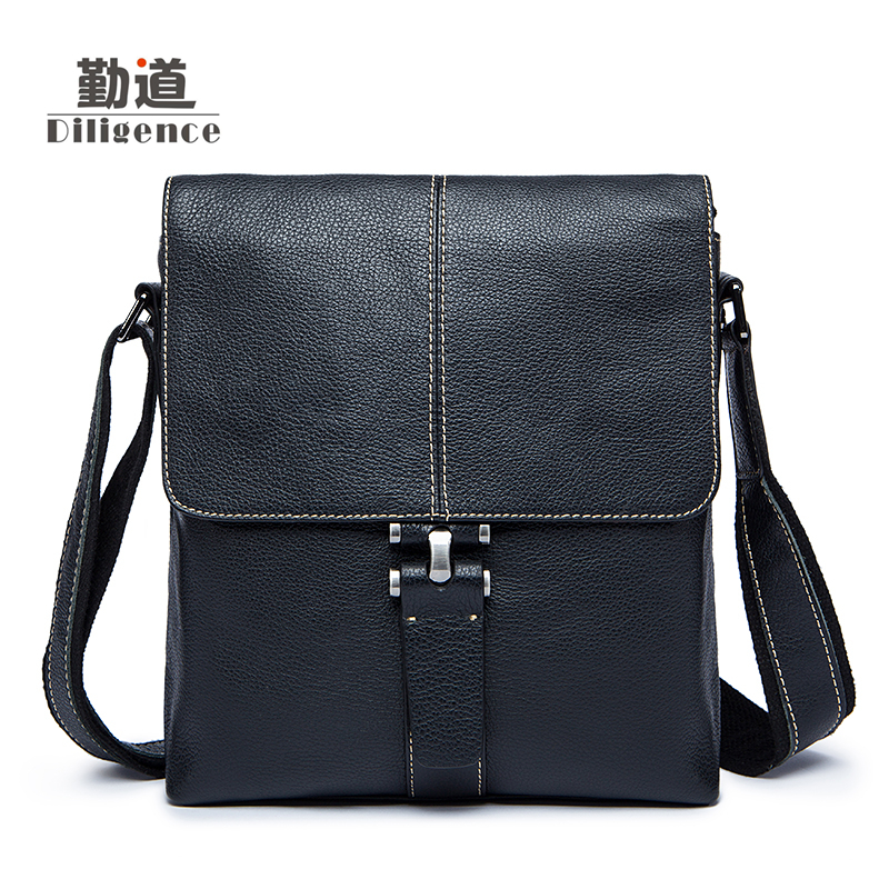 Men's Genuine Leather Handbags Vintage Fashion Bolsa Feminina Bussiness Shoulder Bags Messenger Bags Clutch Strap Cossbody Bags men s genuine leather handbags vintage fashion bolsa feminina casual 2017 new style messenger bag clutch shoulder bags office