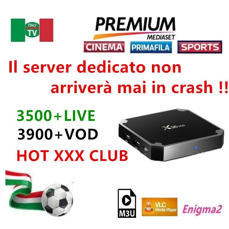 IPTV M3U Enigma2 abonnement für ITALIEN UK Deutschland Spanien mediaset premium für android box smart tv