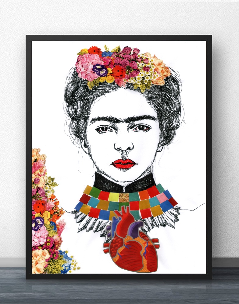 Aliexpress.com : Buy Frida Kahlo Wall Art Paint Wall Decor Canvas ...