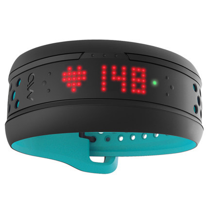 mio fuse smart continous heart rate whthout chest belt built in storage function sport bracelet
