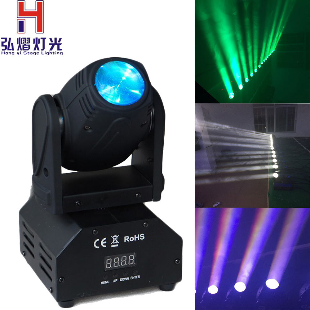 1pcs lot snelle verzending mini led 10 w rgbw beam moving. Black Bedroom Furniture Sets. Home Design Ideas