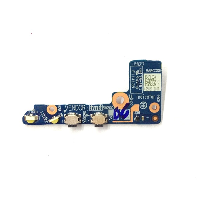 100% Original Power & Volume jack port board For Lenovo Ideapad Yoga 2 11 Power Switch button board Replacement Repair NS-A201 genuine original audio usb board for lenovo yoga 2 pro 13 series ns a071 rev 2 0 kona svt