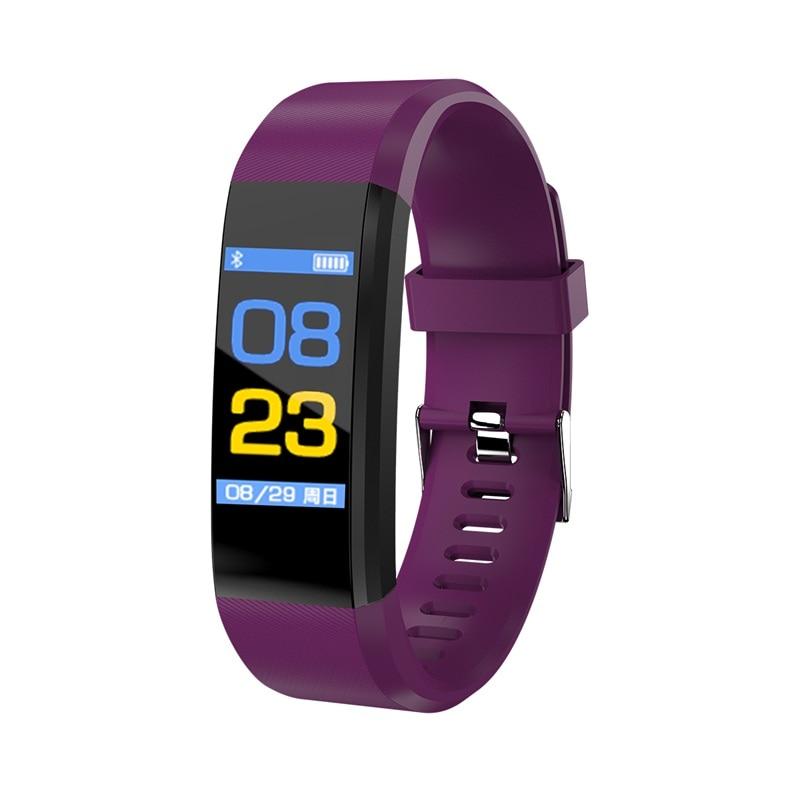 696 115 más hombres Smart Band pantalla color pulsera de Control remoto pulsera Fitness vida impermeable