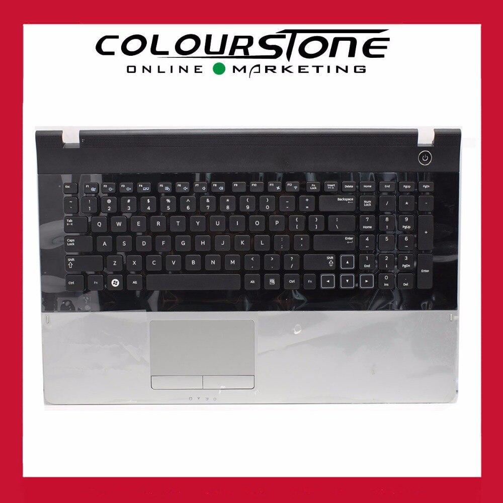 US Laptop Palmrest Touchpad For Samsung NP300E7A 305E7A 300E7A 305E7A Keyboard Laptop Parts