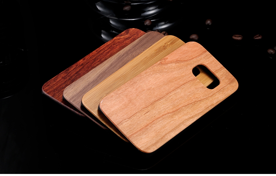 For Samsung Galaxy S8 Plus Real Wooden Case For Samsung S8 Galaxy S7 S6 Edge Back Cover (1)
