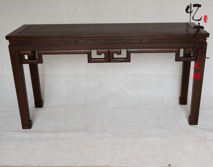 Mahogany furniture of the Ming and Qing Dynasties classical painting antique wood table ebony head cas китайские шахматы friends of the ming 0811210
