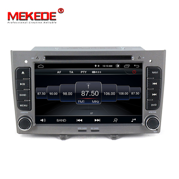 Free shipping! 7inch 2 din Android 8.1 car gps dvd radio for Peugeot 308 408 2009-2014 Autoradio stereo multimedia player 2G RAM image