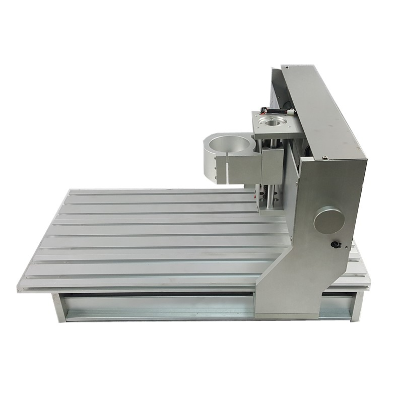 Home Mini Aluminum Lathe Bed 1605 Ball Screw 4 Axis Cnc Router Machine Frame Kit 3040 For Diy Milling