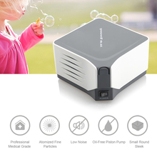 Yuwell 403M Compressor Nebulizer Inhaler Nebulizer Machine Medicated Inhalation Machine Children Kids Adult Atomizer Free Dhl yuwell compressing nebulizer professiona medical equipment for bronchitis rhinitis inhalator for kids portable atomizer inhaler