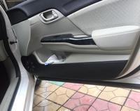 Car Pads Front Rear Door Seat Anti Kick Mat Car Styling Accessories For Honda Civic Sedan