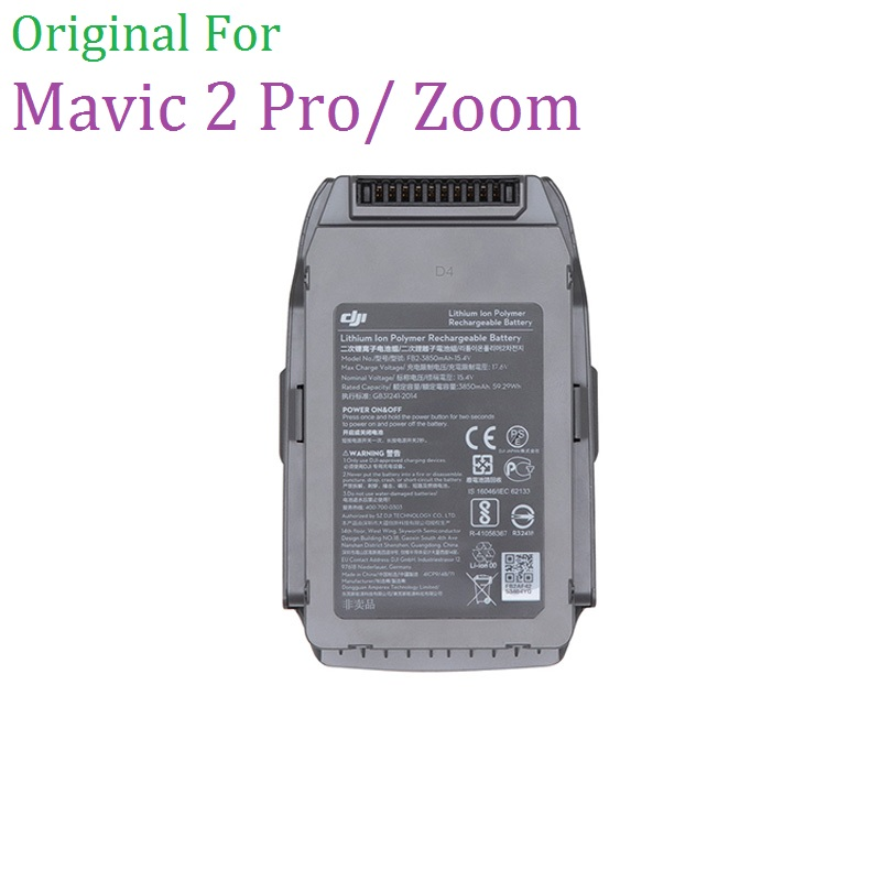 100 Original DJI Mavic 2 Pro Zoom Battery 31 Minutes Of Flight Time Protection Features Intelligent