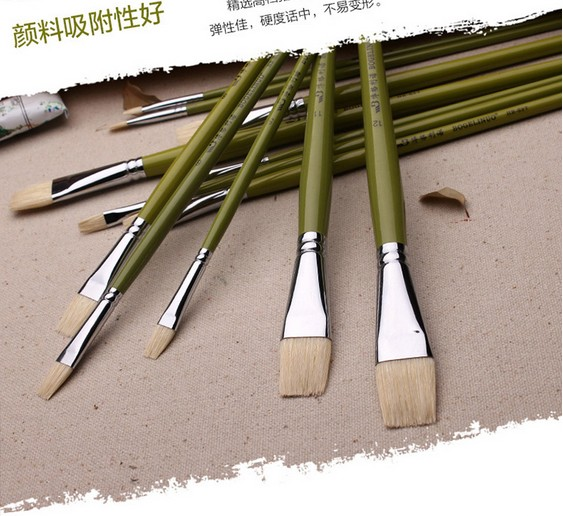 Watercolor Oil Art Drawing Brush Long Handle Art Painting Brush  Pen Acrylic Painting Brush Art Set Watercolor Brush