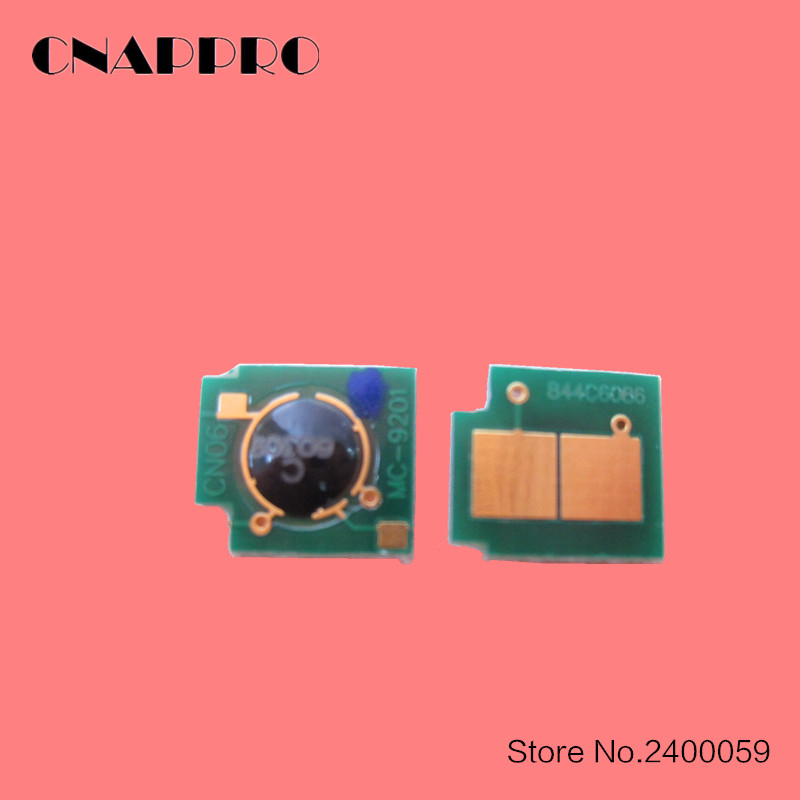 4 x Toner Chip For HP CP3525N CM3530 CE250X CE251A CE252A CE253A Canon CRG323
