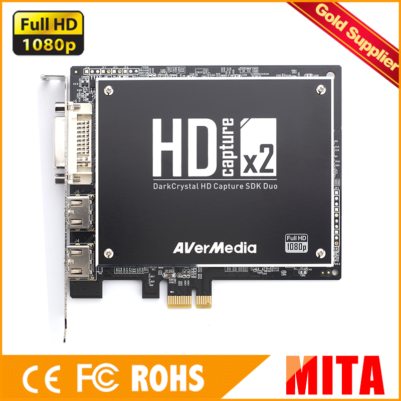 AVerMedia C129 professional Dual acquisition Full HD Video Capture Card